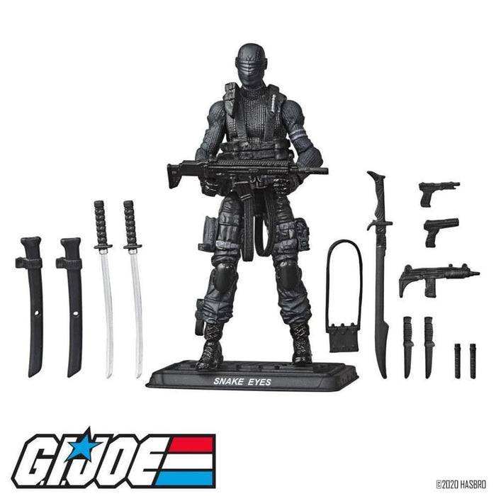 G.I. Joe Retro Collection Snake Eyes - Pre Order please see notes