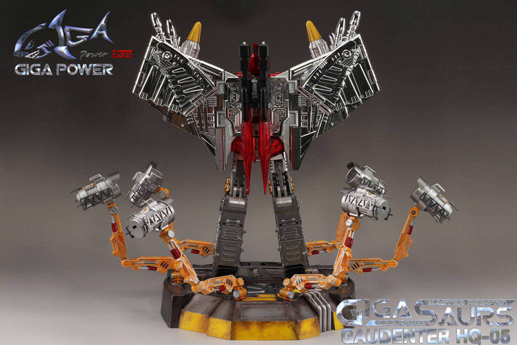 GigaPower GP HQ-05R Gaudenter Swoop Red Chrome Version/3rd Party Swoop