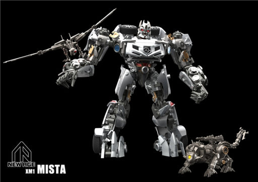 Newage NA XM1 Mista Soundwave DOTM with Laserbeak and Ravage