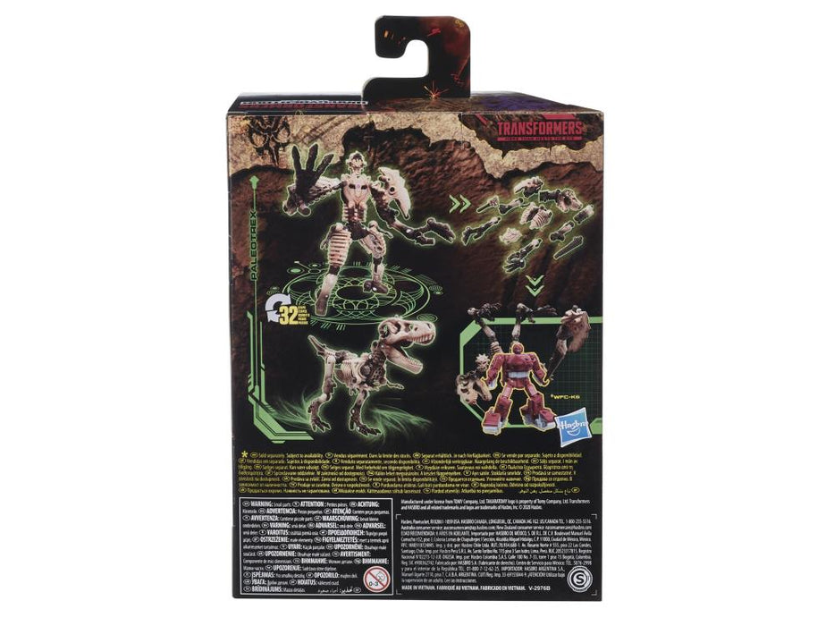 Transformers War for Cybertron: Kingdom Deluxe Paleotrex