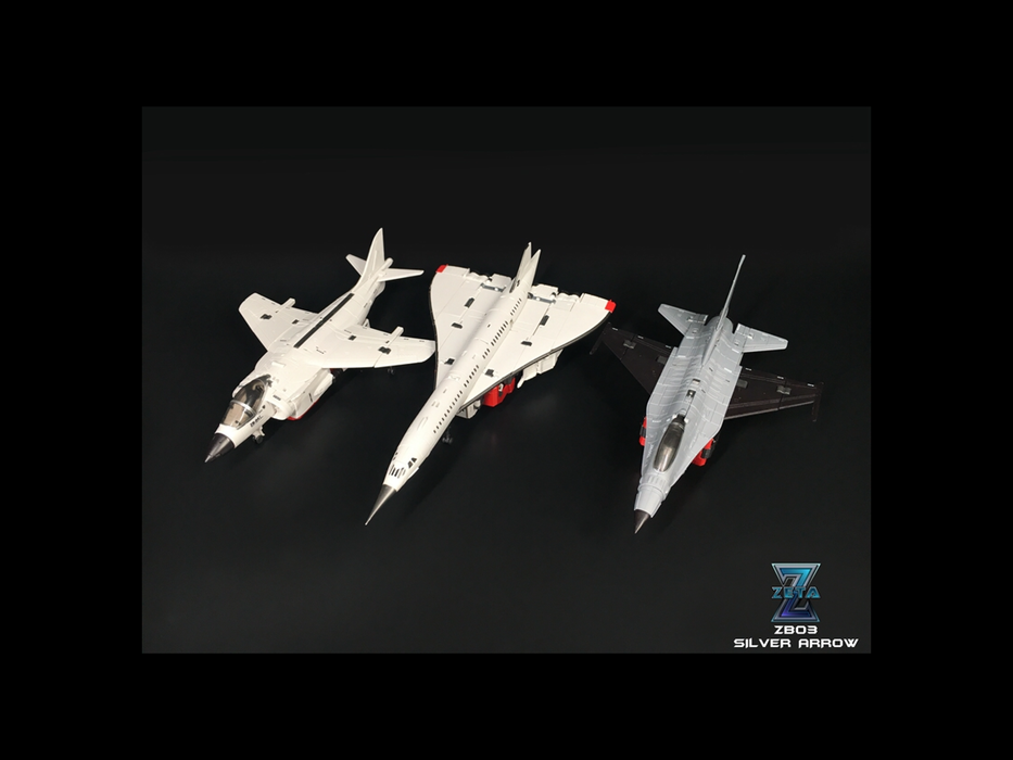 Zeta ZB-03 Silver Arrow/3rd Party Silver Bolt