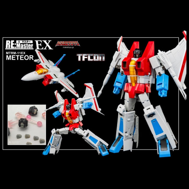 MakeToys MTRM-11EX METEOR/3rd Party Starscream - Pre Order Pls See Notes