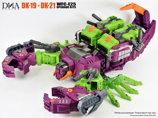 DNA Design DK19 + DK21 add on kit for WFC-E25 Earthrise Scorponok