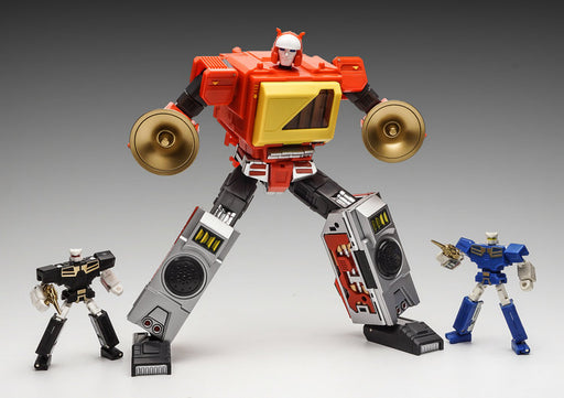 KFC - EAVI METAL PHASE FOUR: A - TRANSISTOR ORANGE MOVIE VERSION W/ CASSETTE - 3rd Party Blaster with Fader and Hifi