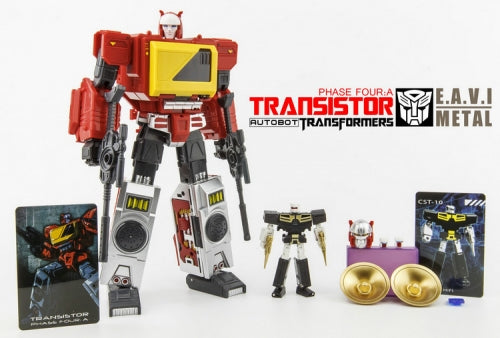 KFC - EAVI METAL Phase Four: A - Transistor Pure Red Color/3rd Party Blaster w/Hifi Only