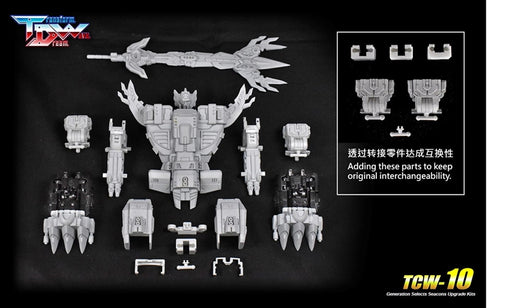 TCW-10 GENERATIONS SELECTS KING POSEIDON UPGRADE KIT | TRANSFORM DREAM WAVE- Pre Order please see notes