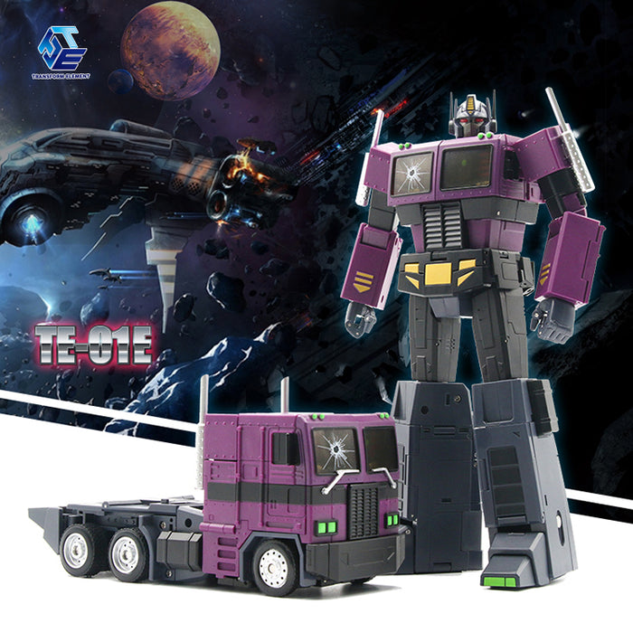 Transform Element TE01E Masterpiece MP-10SG Optimus Prime Shattered Glass Version