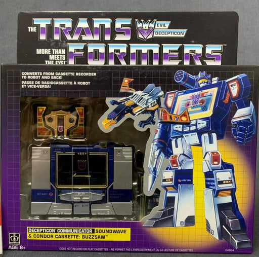 TRANSFORMERS - SOUNDWAVE G1 REISSUE - WALMART EXCLUSIVE