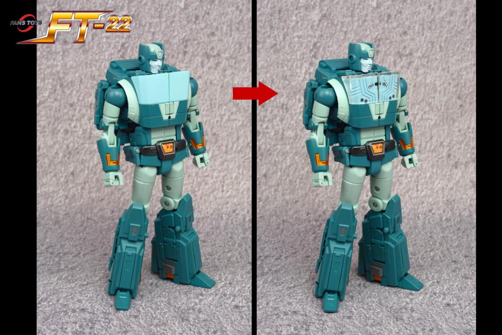 FANS TOYS FT-22 KOOT/3rd Party Kup - Please see notes