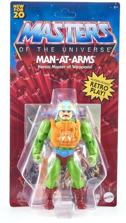 Masters of the Universe: Origins Man-At-Arms