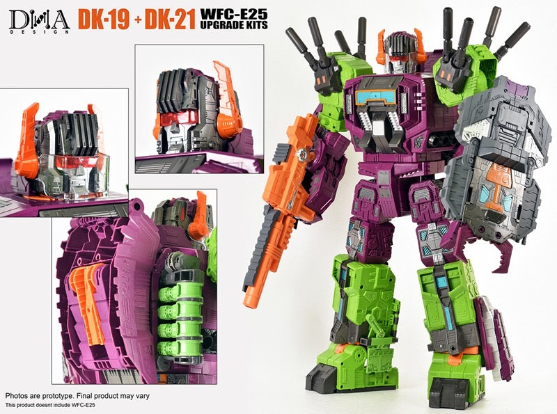 DNA DESIGN DK-19 WFC: EARTHRISE TITAN SCORPONOK UPGRADE KIT