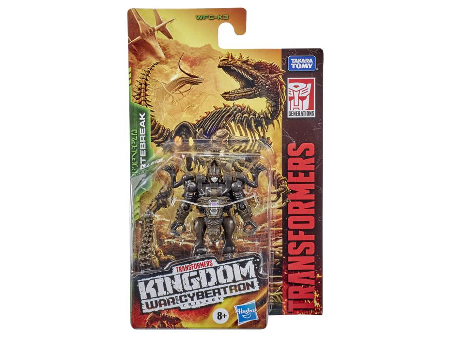 Transformers War for Cybertron: Kingdom Core Vertebreak Wave 1