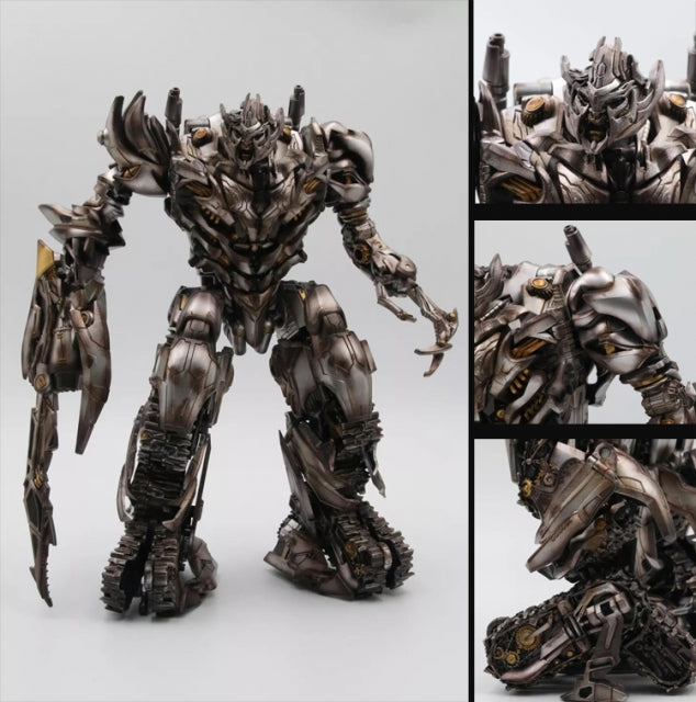 Black Mamba LS-06S Tank Mega Commander Megatron Studio Series SS13 Battle Damaged Version
