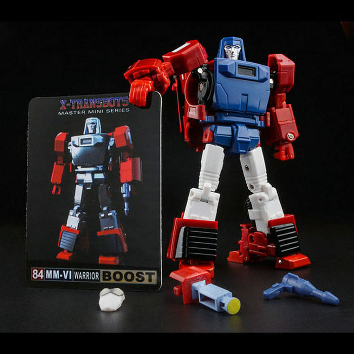 X-TRANSBOTS MM-VI BOOST (CARTOON VERSION)
