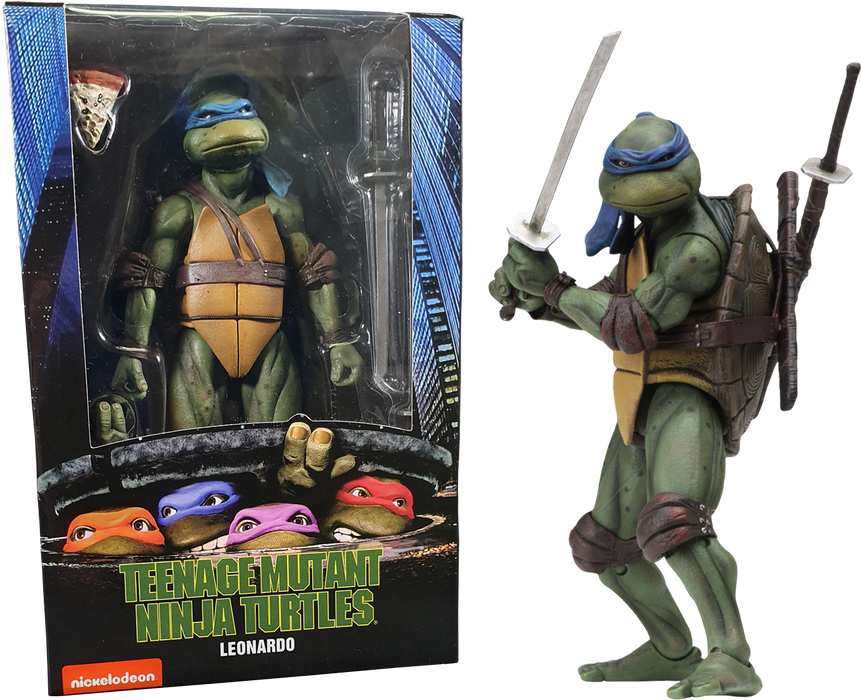 "Teenage Mutant Ninja Turtles (1990) - 7"" Scale Action Figure Bundle (Set of 4)"