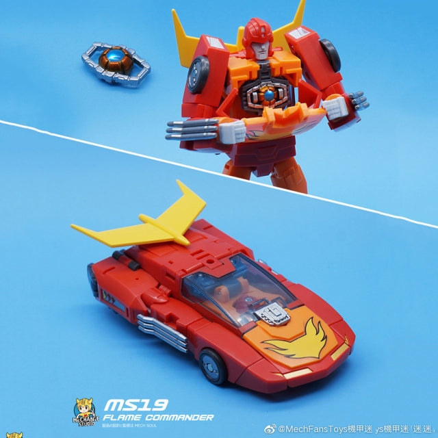 MechFansToys MS-19 Flame Commander Rodimus Prime