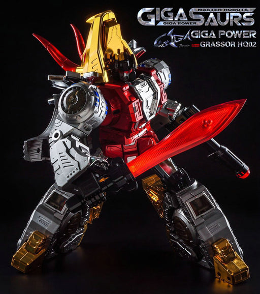 Gigapower - GP - HQ-02R - Grassor - Chrome Version