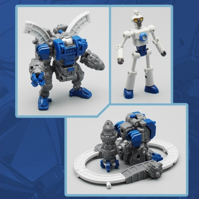 Mechfanstoys MF11L Mech soul Mini Sentry & Doc - Blue Ver