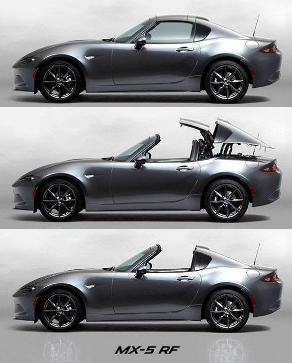 2016 Mazda MX-5 RF Leaked Photos - Power Retractable Targa Top!