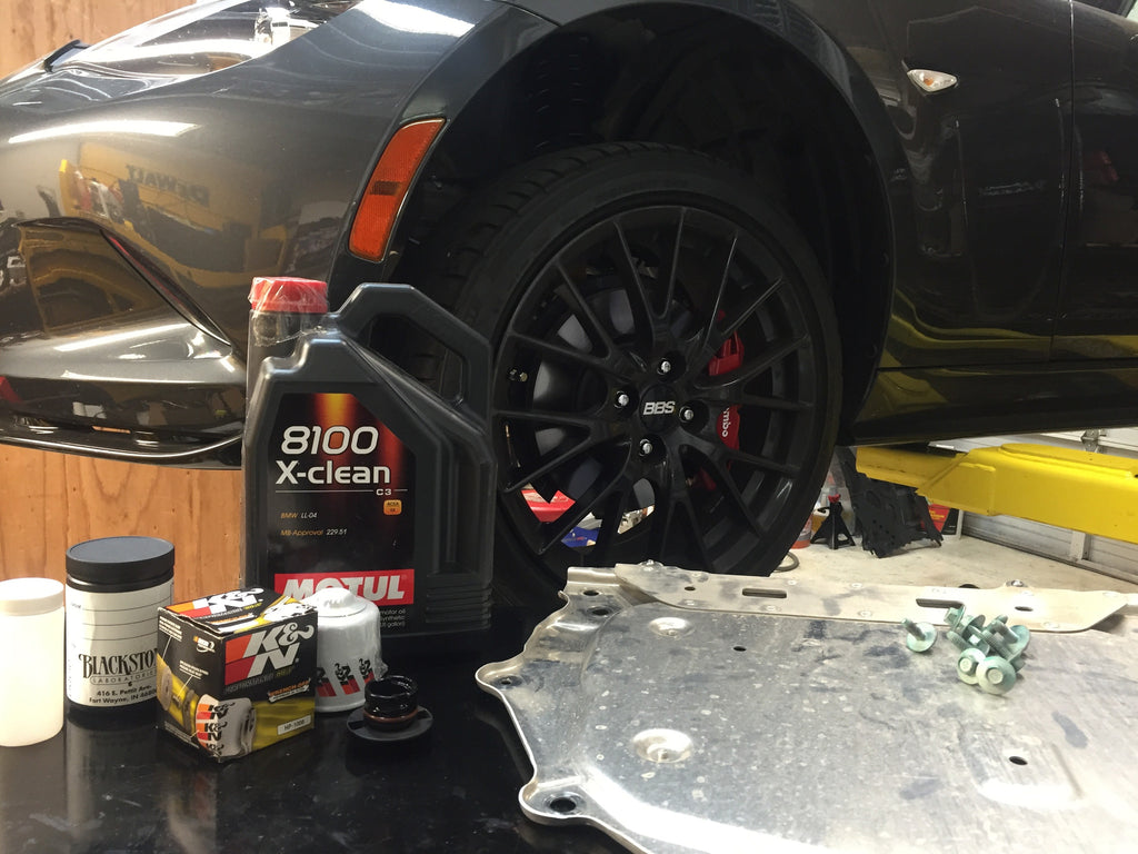 How To: Oil change on 2016+ MX-5 Miata