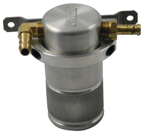 Moroso Air Oil Separator; Small Body - Miataspeed
