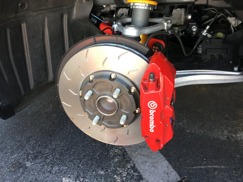 2-Piece Sport Rotor Front Brake kit (ND Miata) - Miataspeed