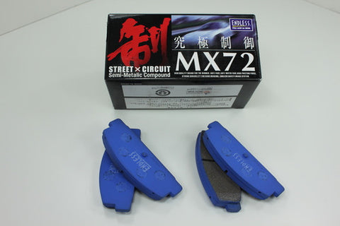 Endless MX72 Racing Brake Pads (NA8/NB) - Miataspeed