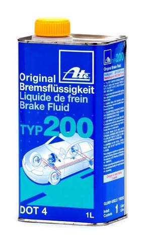 ATE Type 200 Amber Brake Fluid 1L - Miataspeed