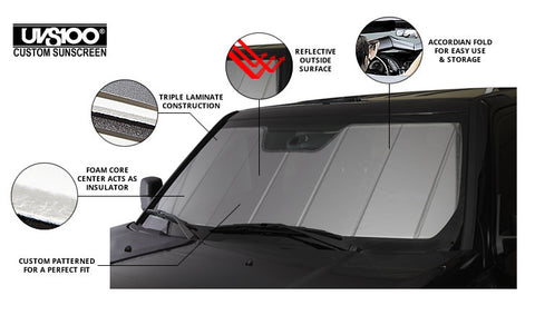 Windshield Sun Shade (NB) - Miataspeed