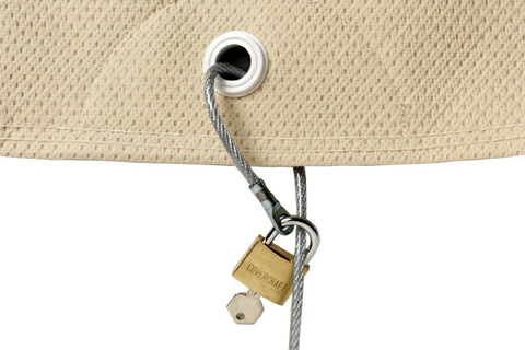Car Cover Cable Lock - Miataspeed