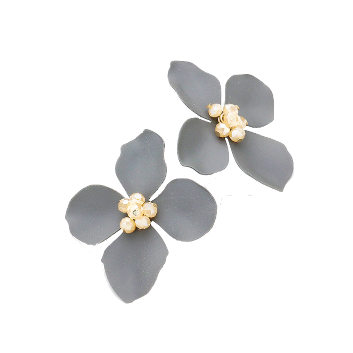 Annabel Flower Statement Earrings
