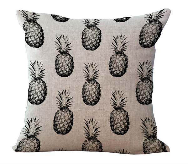 Pineapple Pattern Throw Pillow