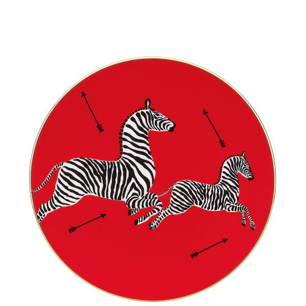 Decorative Scalamandre Zebra Plate