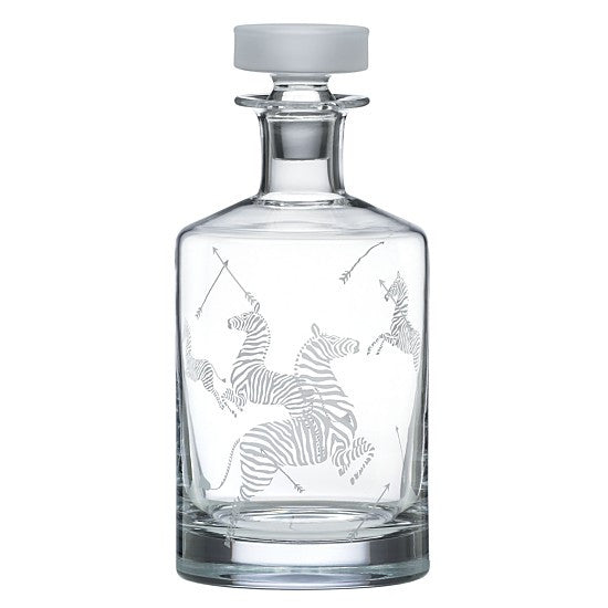 Scalamandre Zebra Decanter