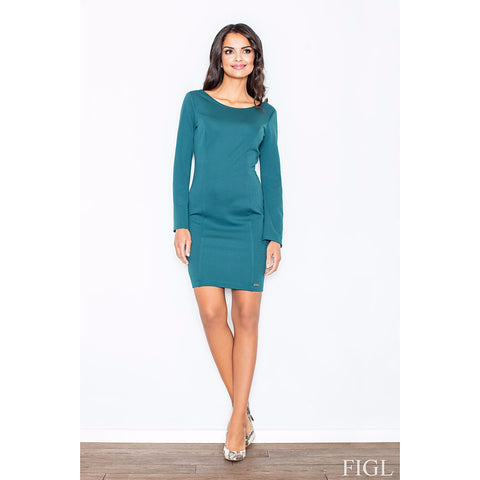 Dark Green Elegant Dress Laveliq LAVELIQ