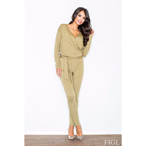 Light Green Elegant Jumpsuit Laveliq LAVELIQ
