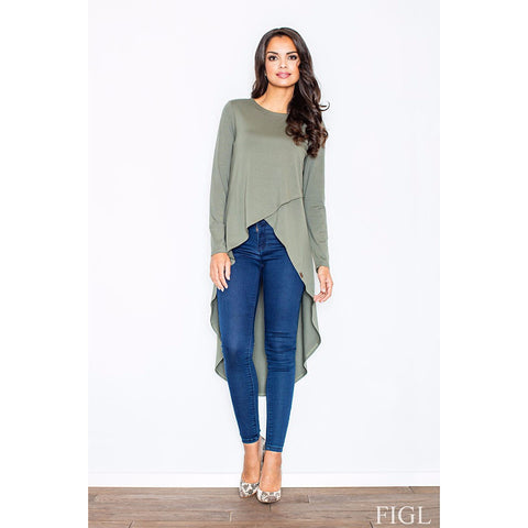 Dark Green Tunic Laveliq LAVELIQ