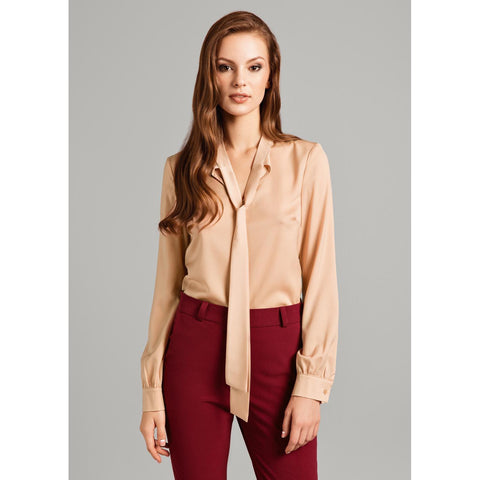 Brown Chic Shirt For Women LAVELIQ