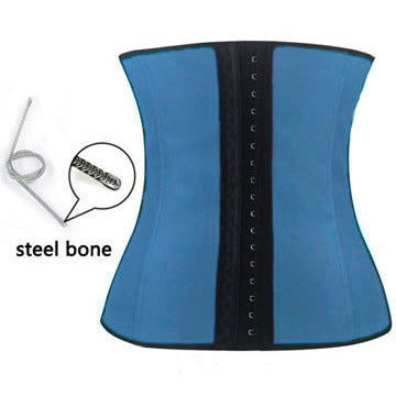 Blue 4 Steel Under Bust Corset LAVELIQ