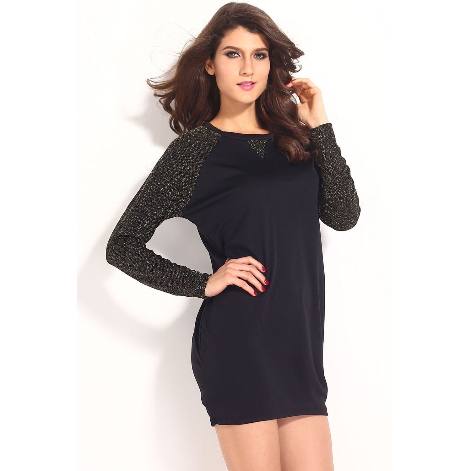 Sleeves Black Dress Sale LAVELIQ - LAVELIQ - 5