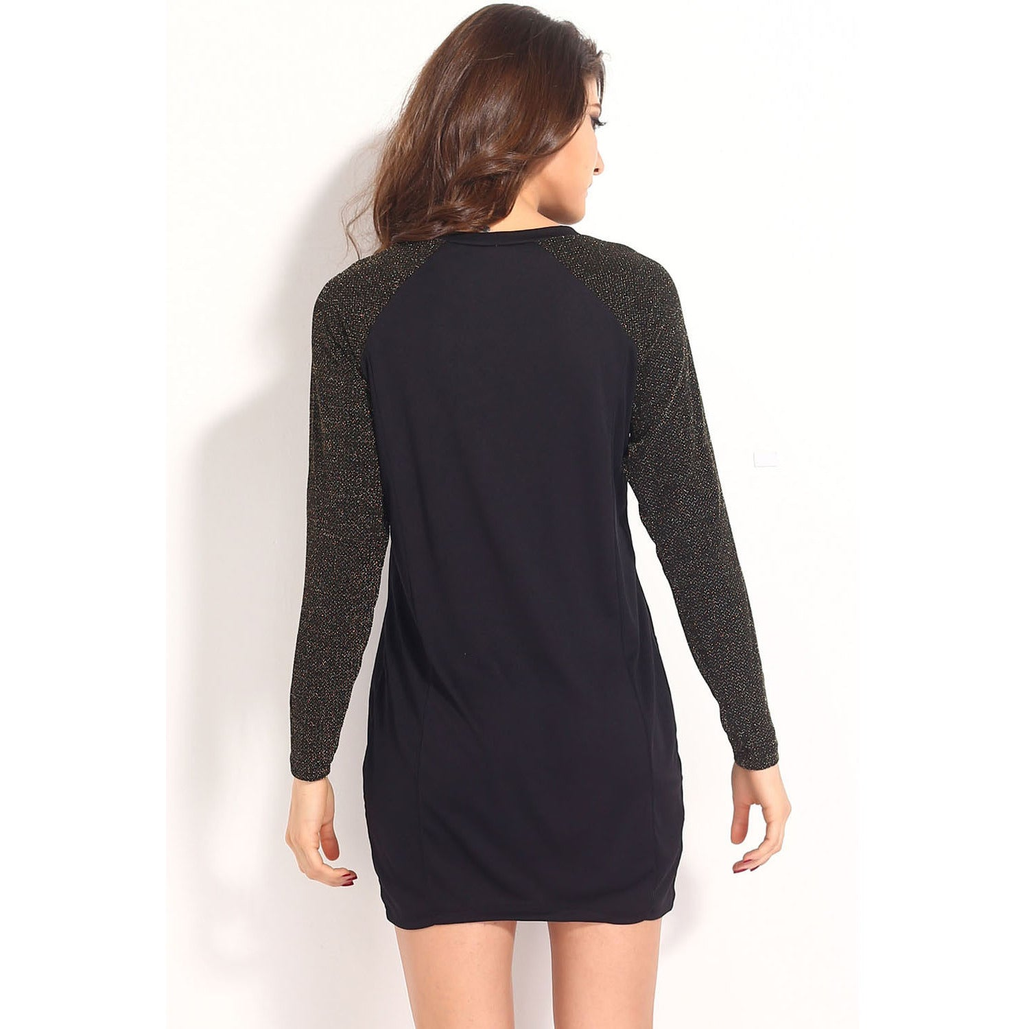 Sleeves Black Dress Sale LAVELIQ - LAVELIQ - 7