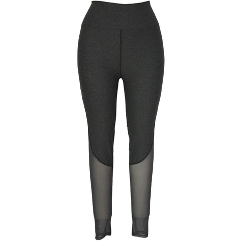 Grey Slimming Sport Legging LAVELIQ