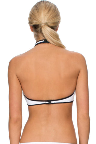 High Neck Halter Neoprene Tankinis LAVELIQ SALE
