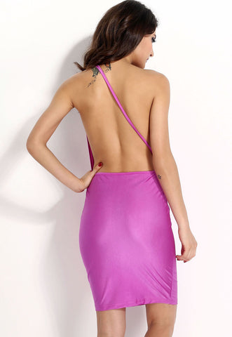 Hollow Out Sexy Backless Bodycon Dress LAVELIQ SALE