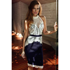 Fancy Lace Sexy Midi Dress Sale LAVELIQ - LAVELIQ - 1