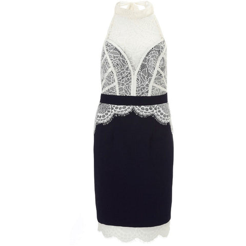 Fancy Lace Sexy Midi Dress Sale LAVELIQ