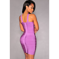 Cross Front Tight Bandage Dress LAVELIQ SALE - LAVELIQ - 2