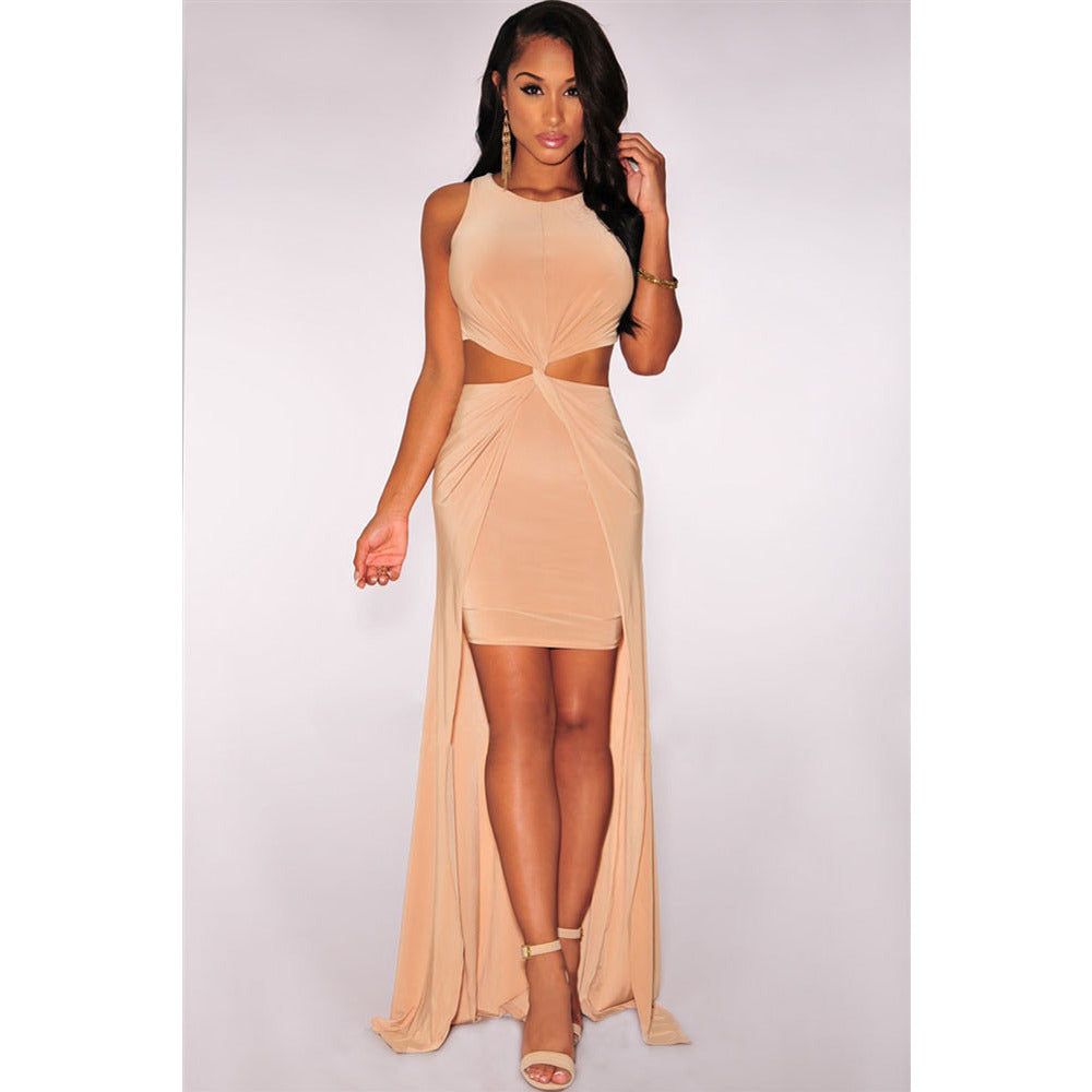 Stylish Cut-Out Maxi Dress LAVELIQ - LAVELIQ - 1