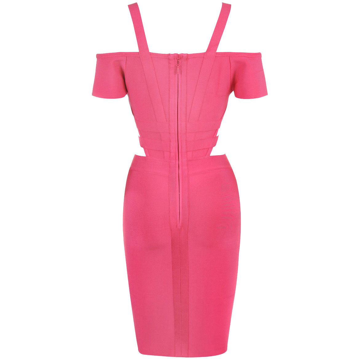 Off Shoulder Cut Out Bandage Dress LAVELIQ SALE - LAVELIQ - 7