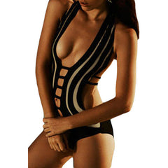 One Piece Hollow Out Bathing Suit LAVELIQ - LAVELIQ - 1